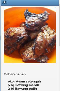 Resep Ayam Bakar screenshot 5
