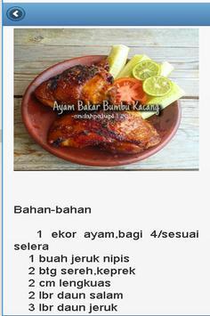 Resep Ayam Bakar screenshot 6