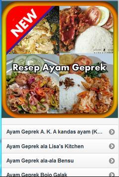 Resep Ayam Geprek screenshot 2