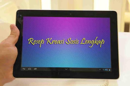 Resep Kreasi Sosis Lengkap apk screenshot