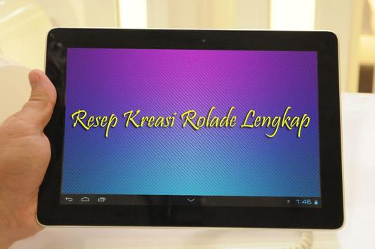 Resep Kreasi Rolade Lengkap apk screenshot