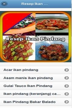 Resep Ikan Pindang Terbaru poster