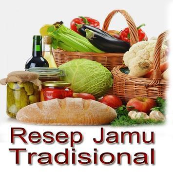 Resep Jamu Tradisional poster