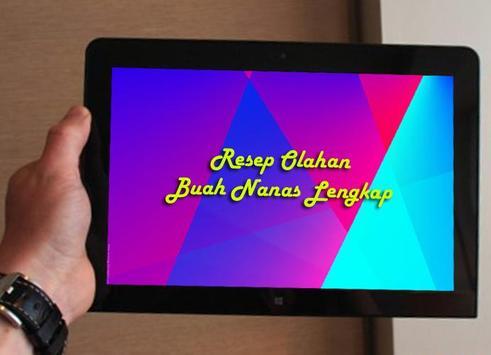 Resep Olahan Buah Nanas screenshot 1
