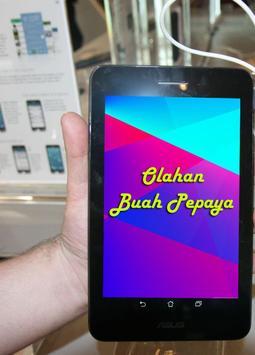 Resep Olahan Buah Pepaya screenshot 2