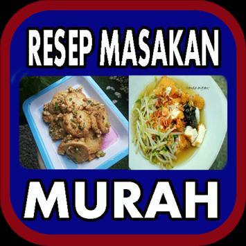 Resep Masakan Murah poster