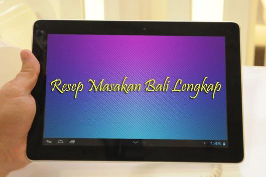 Resep Masakan Bali Lengkap apk screenshot
