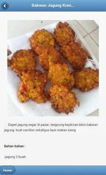 Resep Masakan Jagung screenshot 2