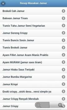 Resep Masakan Jamur screenshot 2