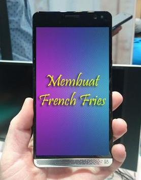 Resep Membuat French Fries poster