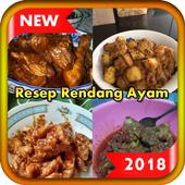 Resep Rendang Ayam Terbaru 2018 icon