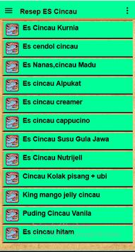 Resep Es Cincau screenshot 14