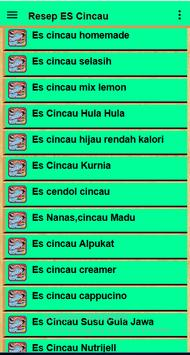 Resep Es Cincau screenshot 2