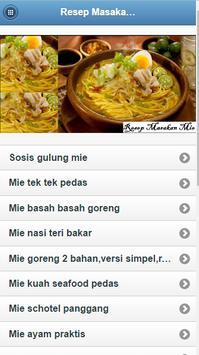 Recipes Noodle poster