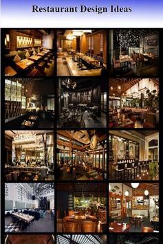 Restaurant Design Ideas screenshot 1