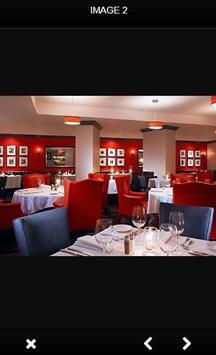 Restaurant Interior Design poster
