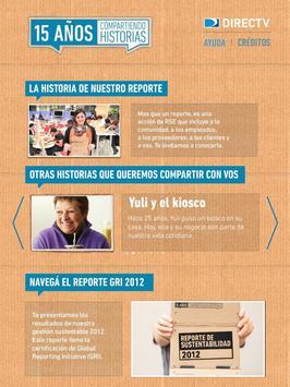 DIRECTV Reporte 2012 screenshot 1