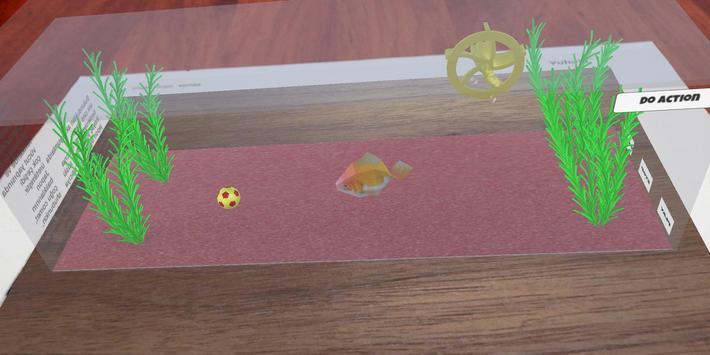 Goldfish Simulator AR screenshot 1
