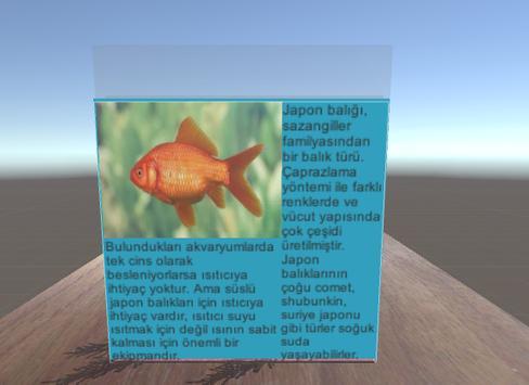 Goldfish Simulator AR screenshot 2
