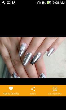 Silver Nail Polish screenshot 5