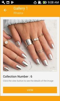 Silver Nail Polish screenshot 1
