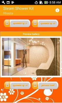 Steam Shower Kit poster