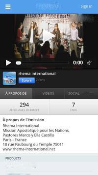 Rhema International apk screenshot