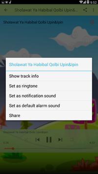 Ya Habibal Qolbi Upin Ipin apk screenshot