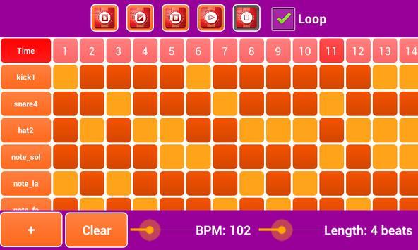 Rhythm Music Maker Mixer Pro poster
