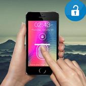 فتح الهاتف بالبصمة Prank icon
