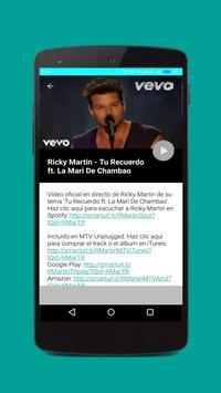 Ricky Martin Songs and Videos screenshot 1
