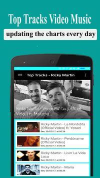 Ricky Martin Songs and Videos apk screenshot