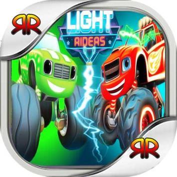 Blaze Monster Return Light Race poster
