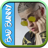 Bad Bunny Pure Música y MP3 icon