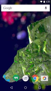 Beautiful crystals LWP screenshot 1