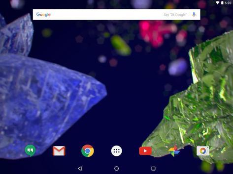 Beautiful crystals LWP screenshot 4