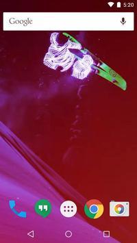 Extreme Skiers live wallpaper screenshot 2