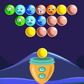 Night Bubble Shooter Game icon