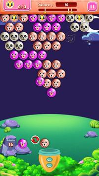 Night Bubble Shooter Game poster