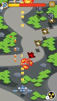 Plane Battle - Scroller Game screenshot 1