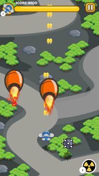 Plane Battle - Scroller Game screenshot 2