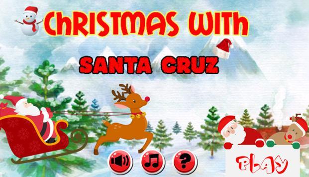 Christmas with Santa Cruz poster