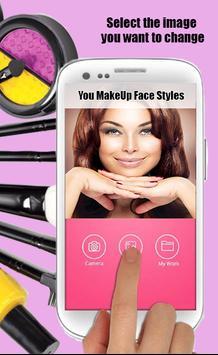 You MakeUp Face Styles screenshot 14