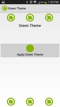Green Theme screenshot 5