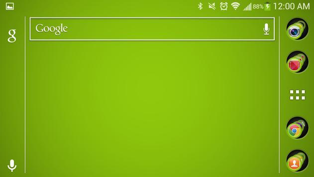 Green Theme screenshot 1