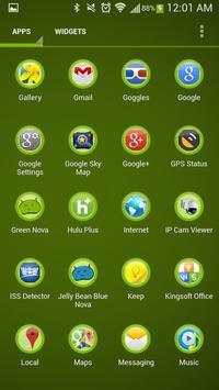 Green Theme screenshot 3