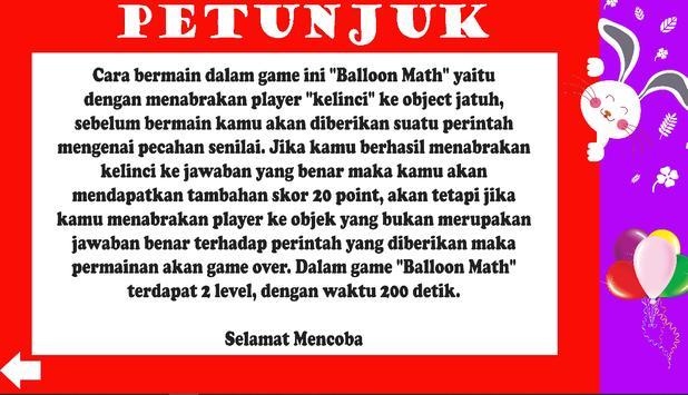 Balloon Math скриншот 3