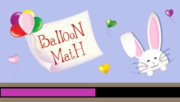 Balloon Math poster