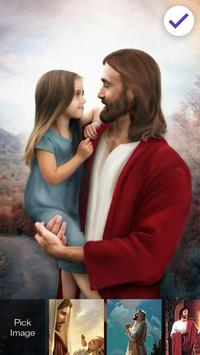 Jesus God Our Lord Savior Screen Lock poster