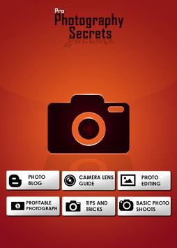 Photo Shoots & Camera Lenses poster